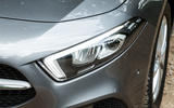 Mercedes-Benz A-Class 2018 road test review headlights