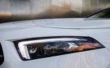 Mercedes-Benz A-Class saloon 2018 review - headlights