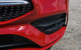 Mercedes-Benz CLA 2019 road test review - front bumper