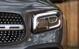 Mercedes-Benz GLB 2020 road test review - headlights