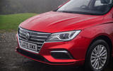 MG 5 SW EV 2020 Road test review - nose