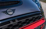 Mini JCW GP 2020 road test review - nose badge