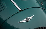 Morgan Plus Four 2020 road test review - front badge