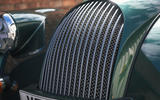 Morgan Plus Six 2019 road test review - front grille