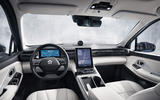 Nio ES8 road test review - dashboard