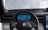Nio ES8 road test review - instruments