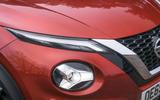 Nissan Juke 2020 road test review - headlights