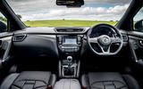 Nissan Qashqai road test review dashboard