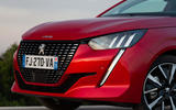 Peugeot 208 2020 road test review - headlights