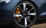 Polestar 1 2020 road test review - alloy wheels