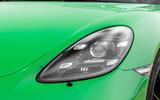 Porsche 718 Boxster GTS 4.0 2020 road test review - headlights