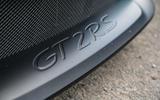 Porsche 911 GT2 RS 2018 road test review front splitter