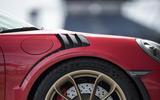 Porsche 911 GT3 RS 2018 review front end aero