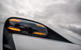 Porsche Taycan 2020 road test review - headlights