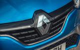 4 Renault Megane E Tech PHEV road test 2021 nose