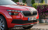 Skoda Kamiq 2019 road test review - front grille
