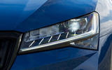 4 Skoda Superb Estate 2021 RT update headlights