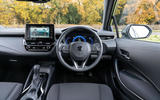 4 suzuki swace 2021 uk first drive review dashboard
