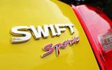 Suzuji Swift Sport Japan-spec review badging