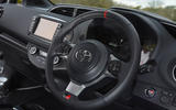 Toyota Yaris GRMN steering wheel