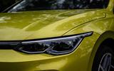Volkswagen Golf 2020 road test review - headlights