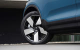 4 Volvo C40 Recharge 2021 first drive review alloy wheels