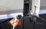 Volkswagen e-Crafter 2018 review - charging port