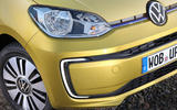 Volkswagen e-Up 2020 road test review - front bumper