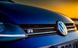 Volkswagen Golf R 2019 road test review - bonnet badge