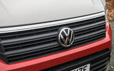 Volkswagen Grand California 2020 road test review - front grille
