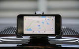 Volkswagen Up GTI 2018 review smartphone