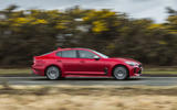 Kia Stinger GT line 2018 review on the road side