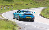 Porsche 911 GT2 RS 2018 road test review cornering