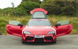 Toyota GR Supra 2019 road test review - static doors