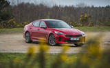 Kia Stinger GT line 2018 review static