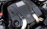 4.7-litre V8 Mercedes-Benz CLS 500 engine