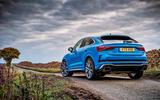 Audi RS Q3 Sportback 2020 road test review - static rear
