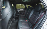 Audi RS6 Avant 2020 road test review - rear seats