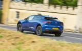 Jaguar I-Pace 2018 road test review cornering rear