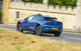 Jaguar I-Pace 2018 road test review cornering rear
