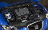 2.0-litre TDI Seat Leon FR+ Supercopa engine