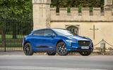 Jaguar I-Pace 2018 road test review hero static