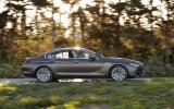 BMW 640d Gran Coupe side profile