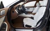 BMW 640d Gran Coupe interior
