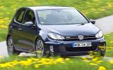 Volkswagen Golf GTD cornering