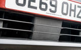Nissan Juke 2020 road test review - ADAS sensor
