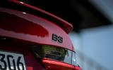 Alpina B3 2020 road test review - rear badge