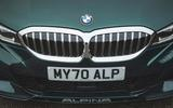 5 alpina d3 touring 2021 uk first drive review grille