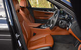 Alpina D5 S review cabin