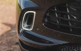 Aston Martin DBX 2020 road test review - front bumper